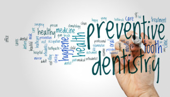 74130729 - preventive dentistry word cloud concept on grey background